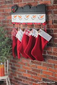Beyond The Picket Fence 12 Days Of Christmas Day 8 Stocking Hanger