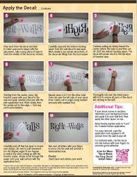 How To Apply Vinyl Wall Decals Quick Easy