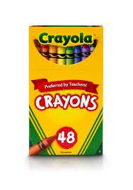 Crayola Crayon Assorted Wax 48 Box Cyo 520048 Walmart Com Walmart Com