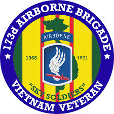 173rd Airborne Brigade Vietnam Veteran Decal