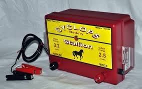 Cyclops Stallion Battery Powered 2 5 Joule Electric Fence Charger Energizer For Sale Online Ebay