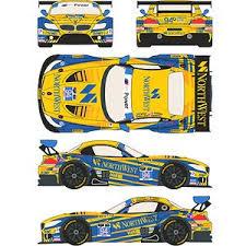 Bmw Z4 Gt3 94 Northwest 24 Horas Daytona 2014 Decal Hobbysearch Model Car Kit Store