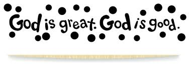 Decal God Is Great God Is Good 20x30 Wall Decals By Design With Vinyl