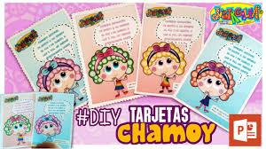 Distroller Tarjetas De Chamoy Cumpleanos Power Point Youtube