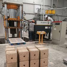 salt block making hydraulic press