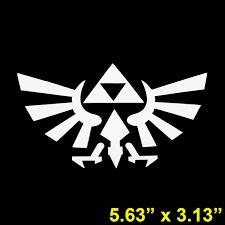 Legend Of Zelda Triforce Vinyl Decal Sticker Computer Die Cut For Quality