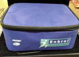 enbrel phizer padded travel bag