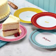 cake boss serveware pc quotes dessert plate set