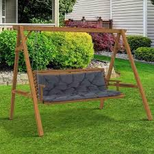cushion 150wx98lx8t cm outdoor bench