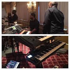 """Myke Bizzell on Twitter: """"Flavuh band. Phil Lewis, @kblack1979 @lthomas513  @myke_bizzell and @sameolgee is the band … http://t.co/U4hkp147oO  http://t.co/9ZyDGZRj3C"""""""