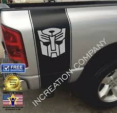 Any Truck Vinyl Decals Racing Stripes Autobot Transformers Frontier F150 Ebay
