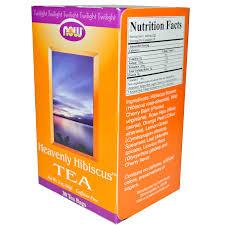 now foods heavenly hibiscus tea