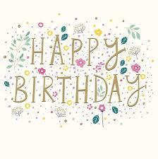 Bright Flowers Birthday Card, , Female | Penny Black