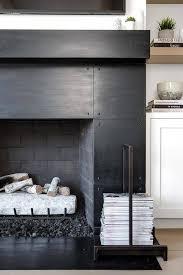 beautiful metal fireplace appealing