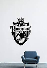 Amazon Com Ravenclaw Wall Decals Decor Vinyl Stickers Lm0983 Home Kitchen