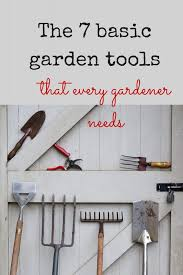garden tools to make your gardening