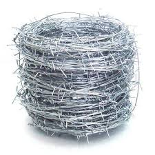Barbed Fencing Wire At Rs 48 Kilogram Barbed Wire Fencing Kata Tar कट ल त र Maa Girja Steel Raipur Id 14970132891