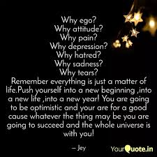 why ego why attitude wh quotes writings by jeyaram