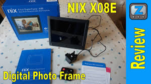 nix advance x08e digital photo frame