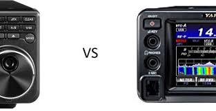 yaesu original ft 991a vs icom ic 7300