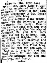 Effie (Greene) Long birthday - Newspapers.com