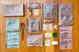 mres anatomy of a military meal