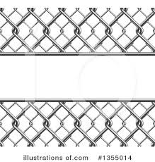 Chain Link Fence Clipart 1355014 Illustration By Vectorace