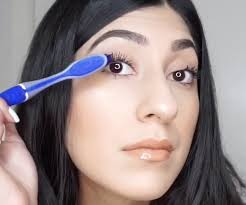 diy vaseline mascara