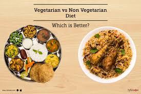 vegetarian vs non vegetarian t