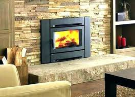 decoration gas fireplace insert cost