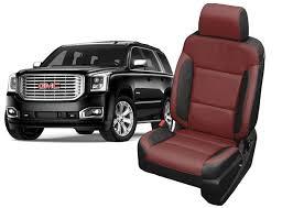 gmc yukon seat covers leather seats