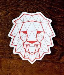 Lion Lamb Sticker 139made Llc