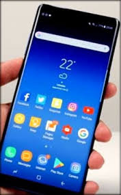 screen launcher on galaxy note 8