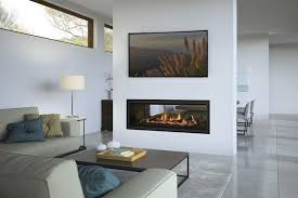 how double sided fireplaces give an