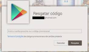 codigos de gift card google play gratis
