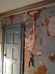 wallpaper removal before oil priming