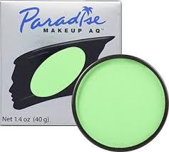 green foundation makeup for beast boy