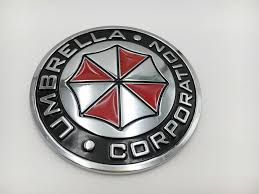2020 75mm Car Metal Emblem Decal For Umbrella Corporation Badge Auto Body Sticker Motorcycle Custom From All Roads 10 05 Dhgate Com