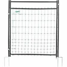 Kerbl Door For Electric Fence Nets Farming Gate Garden Barrier 95 125 Cm 446518 For Sale Online Ebay