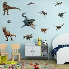 3d Dinosaur Wall Stickers Jurassic World Animal Wall Decal For Kids Room Decor Ebay