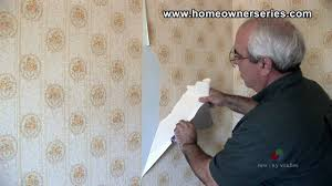 removing wall paper drywall repair