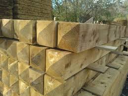Treated Wooden Gate Posts Kudos Fencing Supplies Uk Delivery
