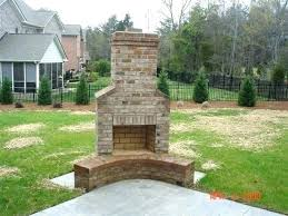 patio fireplace designs outside layout