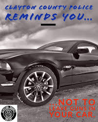 A friendly reminder from your police department... (Clayton County Police  Department) — Nextdoor — Nextdoor