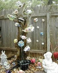 diy teapot garden decorations