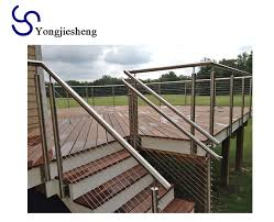 Stainless Steel Post And Wire Fence Railing Systems Buy Stainless Steel Wire Railing Stainless Steel Post And Wire Fence Stainless Steel Wire Railing Systems Product On Alibaba Com