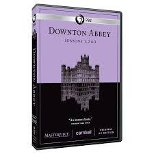 downton abbey seasons 1 2 3 dvd tv