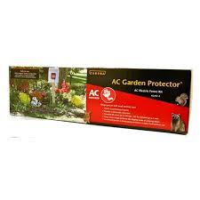 Zareba Ac Garden Protector Electric Fence Kit Electric Fence Electricity Ac Power
