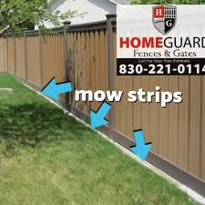 Have You Heard Of A Mow Strip Home Guard Fences Gates