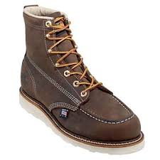 thorogood boots men s brown moc toe